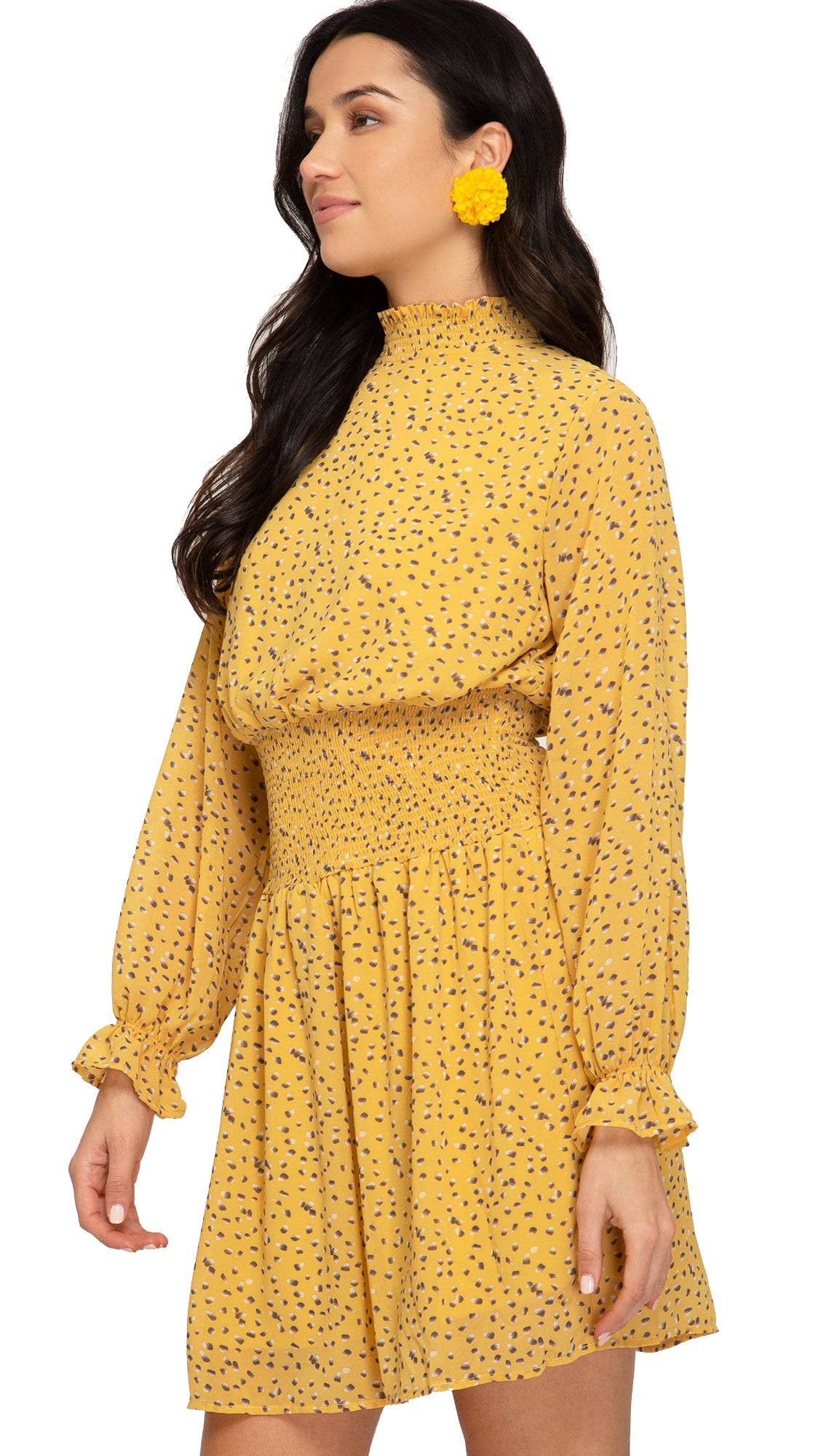Brighten My Day Dress- Yellow