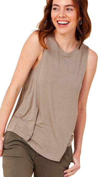 Softest Basic Tank- Off White