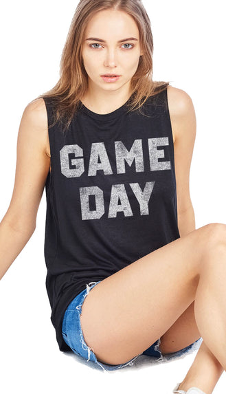 Game Day Tank- Olive