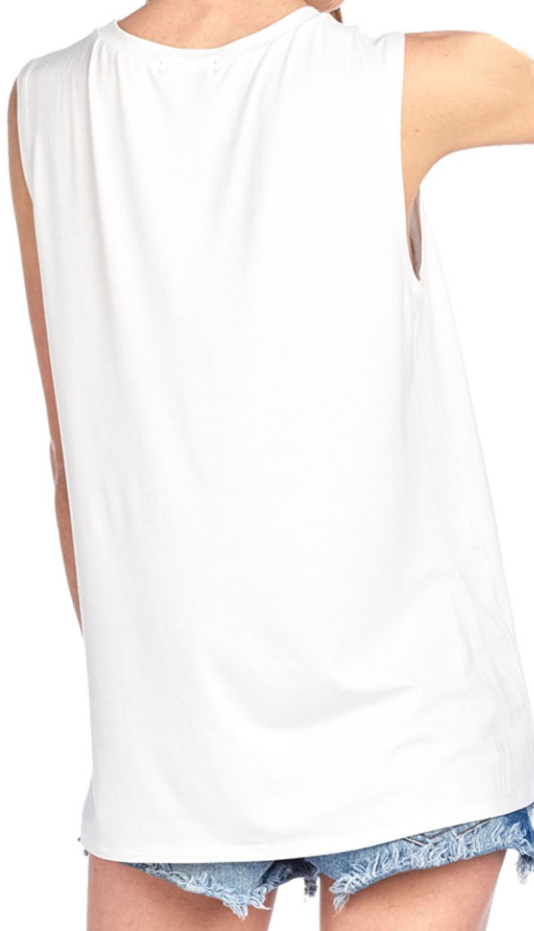 Game Day Tank- White