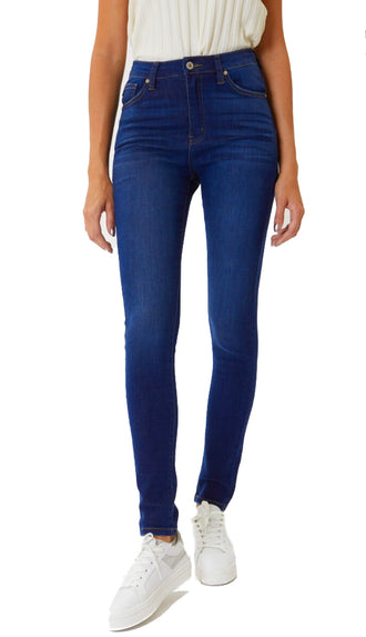 KanCan Basic Skinny Denim- Dark Wash