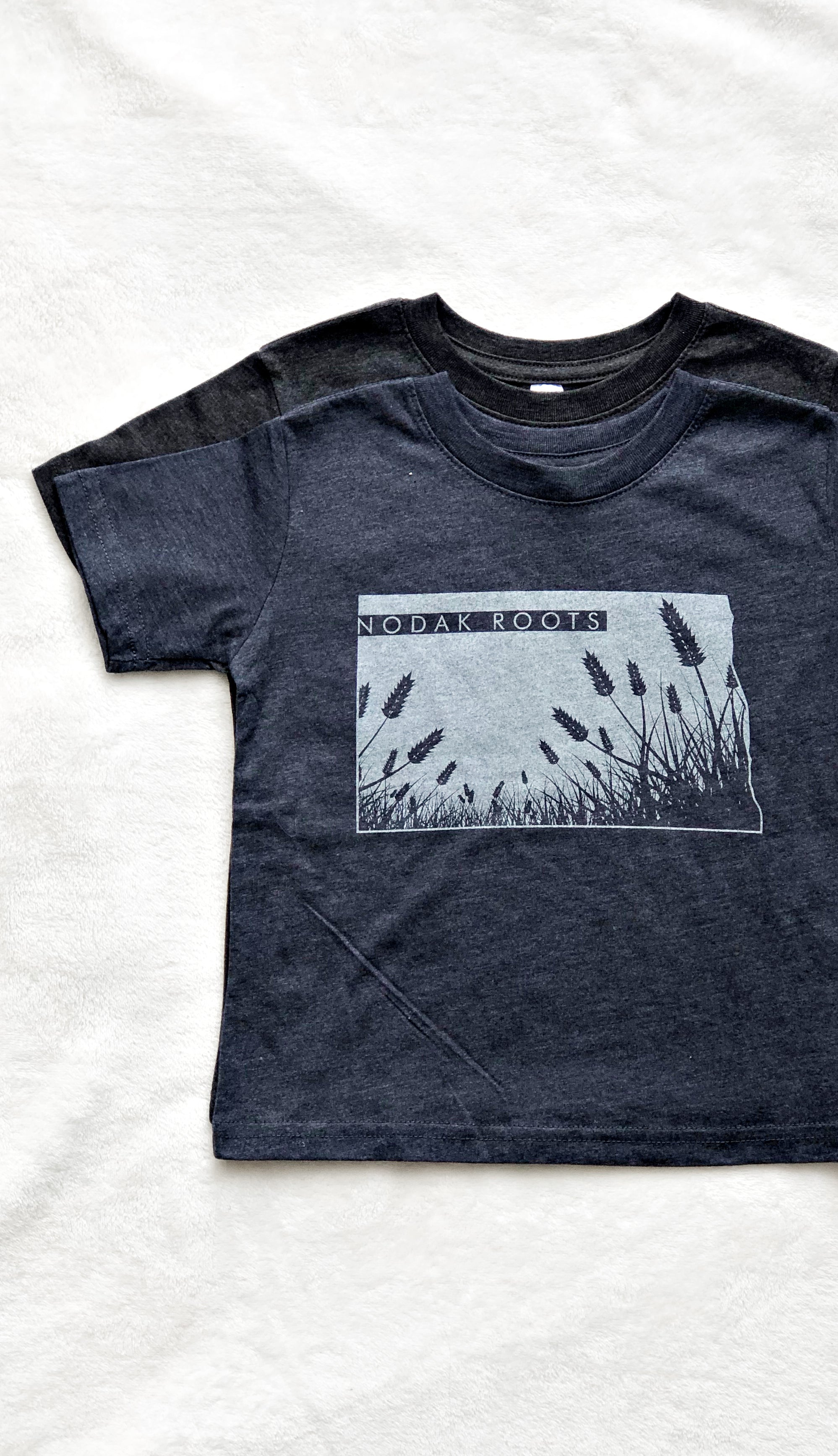 Kids Nodak Roots Tee- Navy