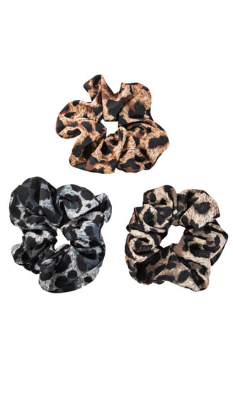 Animal Scrunchie Set- Multi