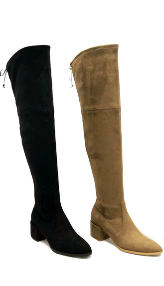 Oh So Good Over The Knee Boots