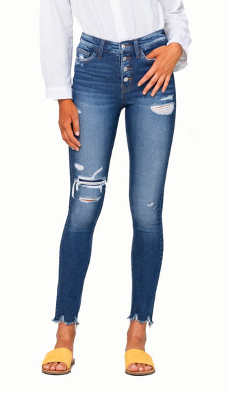 Flying Monkey Vervet Parkside Skinny Jean (High Rise)
