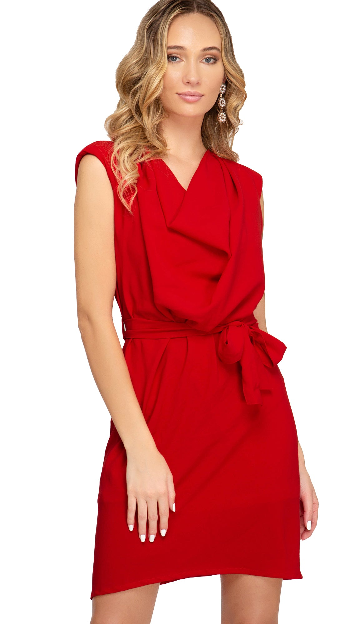 Red Hot Dress- Red