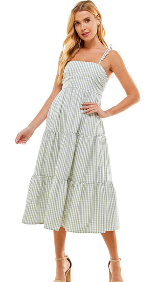 Eucalyptus Fresh Tired Dress- Sage