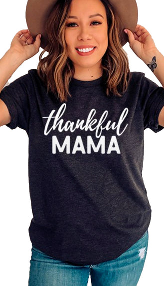 Thankful Mama Graphic Tee
