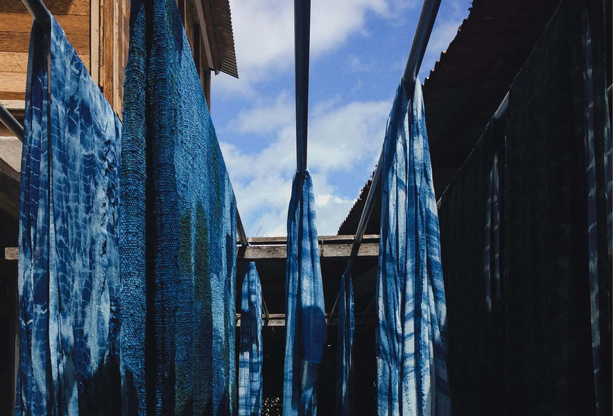 Itajime Shibori - A japanese art of resist dyeing