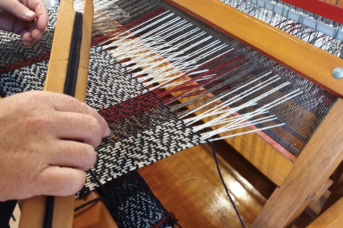 The Art of Hand-Weaving
