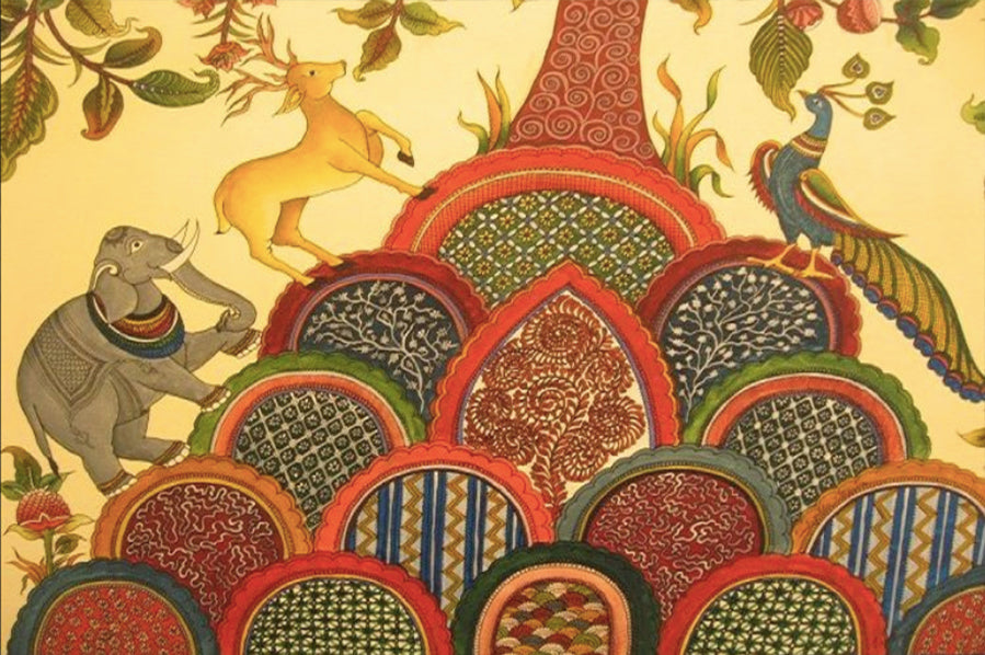 A Tale of Ancient Indian Art Kalamkari