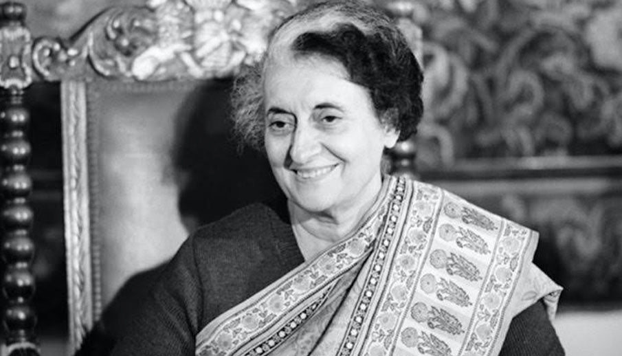 Handwoven Textiles worn with Powerful Elegance - Indira Gandhi