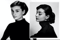 Audrey in Turtle neck top