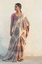 Load image into Gallery viewer, saree model in latest designer saree | sari sari | silk saree designed in India