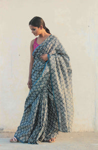 Kaveri | Organza Silk saree designed with perfect shimmer
