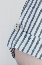 Load image into Gallery viewer, Roxane's Top | Block printed striped cotton top-Resha.in