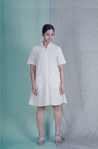 Easy A | Organic khadi cotton dress-Resha.in