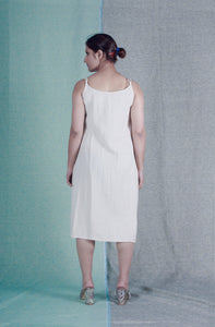Bare Foot | Organic khadi cotton dress-Resha.in