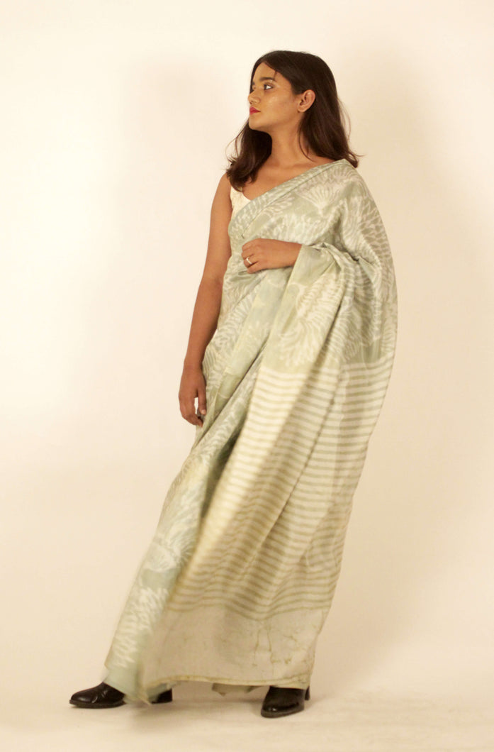 Noelle | Pure silk saree with floral print