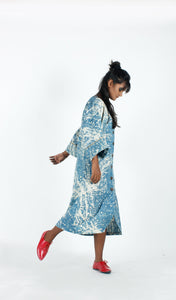 Light Blue Artist Dress-Resha.in