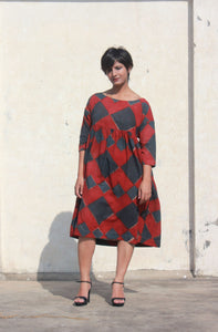 Lucy's Dress | Kala cotton using natural dye