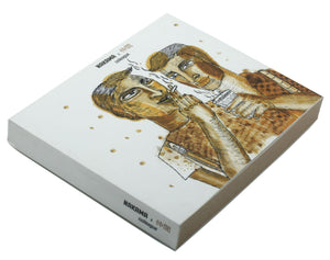 Colleague | Nakama Notebook with Illustrated cover and off-white Jute papers-Resha.in