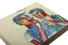 Load image into Gallery viewer, Colleague | Nakama Notebook with Illustrated cover and off-white Jute papers-Resha.in