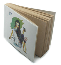 Load image into Gallery viewer, Best Friends | Shinyuu Notebook with Illustrated cover and off-white Jute papers-Resha.in