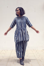 Load image into Gallery viewer, Deni's Tunic | Organic cotton dress with pant with block print (Set of 2)
