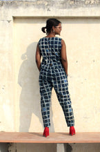 Load image into Gallery viewer, Amori Co-ord set | Natural Indigo with block print
