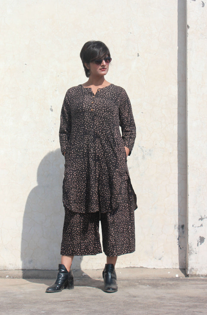 Falak's dress | Organic cotton Tunic with pants (Set of 2)