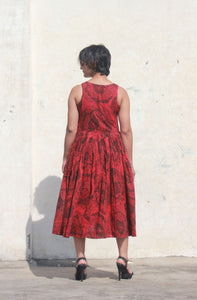 Omaja's dress | kala cotton with floral print