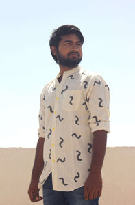 Shop organic cotton block printed shirts for men
