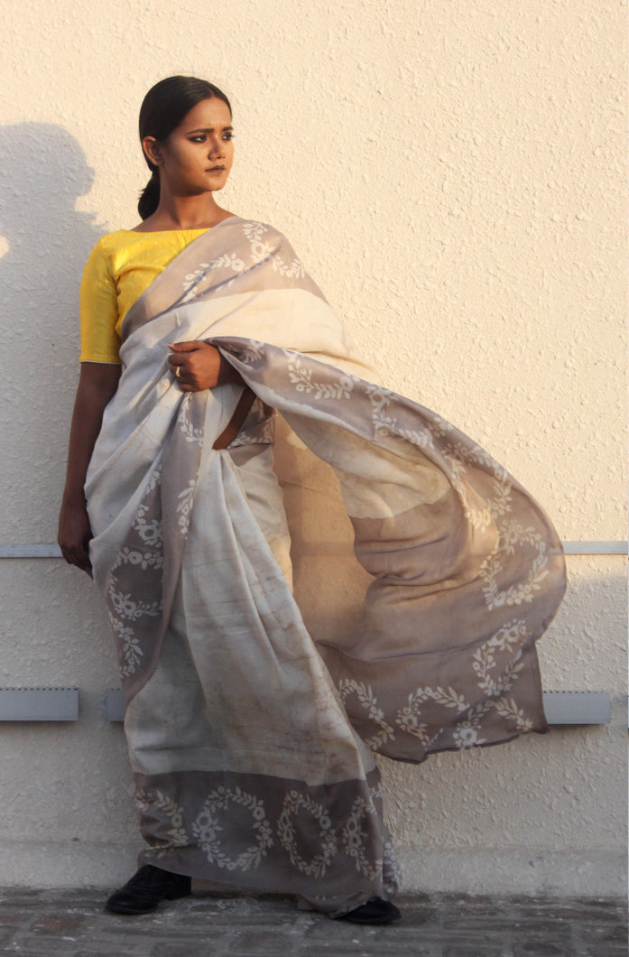Adrianna | Pure silk saree designed with love and care