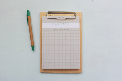 One Big Thing To-Do List Notepad