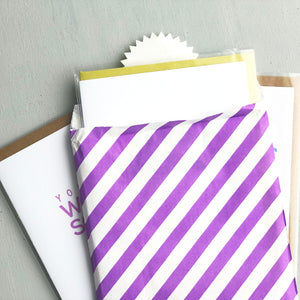Card Flight - Proud of Your Friends - Three Letterpress Greeting Cards