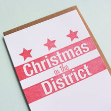Load image into Gallery viewer, Christmas in the District Letterpress Holiday Card