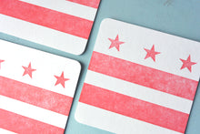 Load image into Gallery viewer, DC Flag Letterpress Coasters