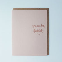 Load image into Gallery viewer, You Are Big Hearted Letterpress Friendship Card