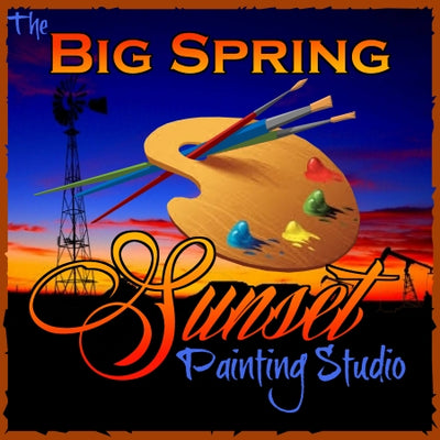 Big Spring Sunset Painting Studio