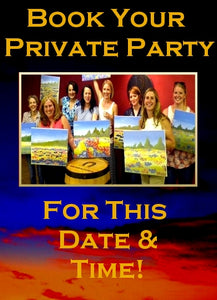 Sat, May 19, 2018, 7-10pm Private Party at Big Spring, TX Paint, Wine, & Canvas Class