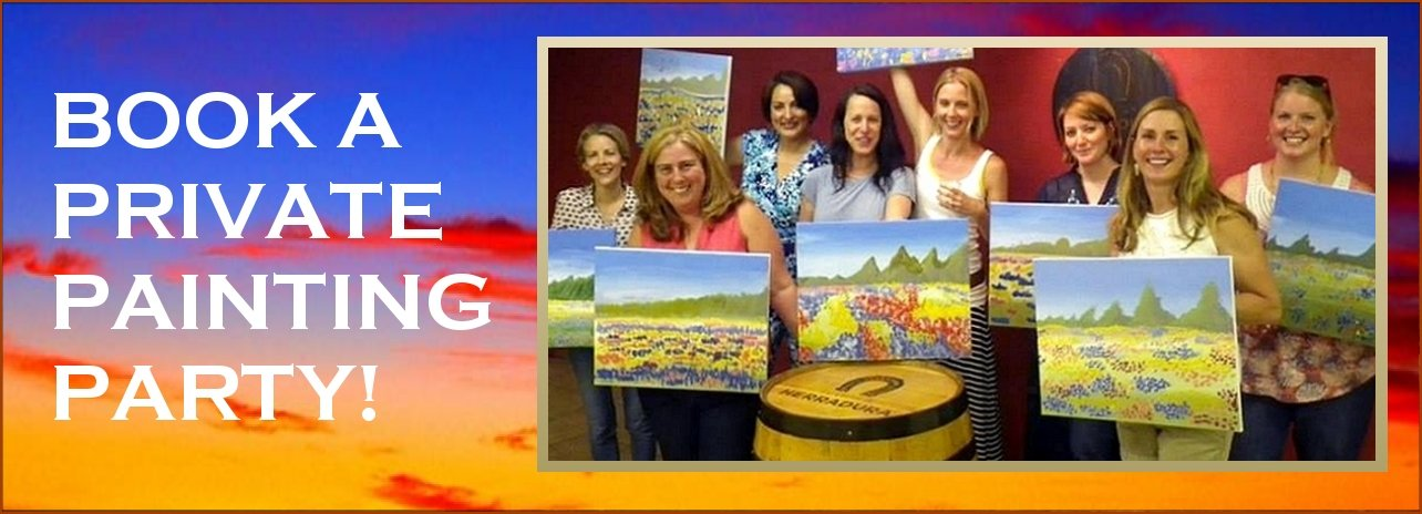 "Thursday October 17th 2019,  "" Ribbon of Hope"" Public Party at Big Spring, TX Paint, Wine, & Canvas Class"