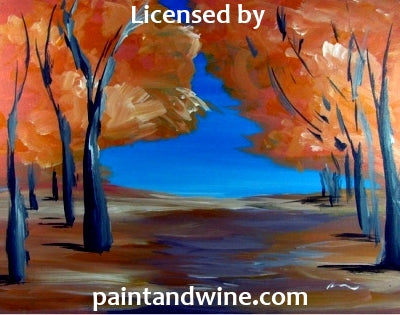 "Sat, September 29th, 2018, 6-8pm ""Elizabeth's Event"" Private Wine & Painting Class Big Spring, TX Big Spring Sunset, & Canvas Class"
