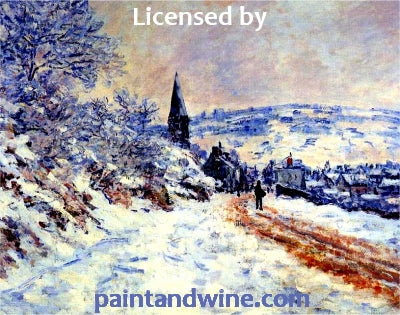 "Sat, January 12th, 2018, 6-8pm ""Snowy Day"" Public Big Spring, TX Paint, Wine, & Canvas Class"