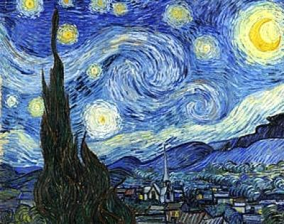 "Sat, July 7th, 2018, 6-9pm ""Starry Night"" Public Big Spring, TX Paint, Wine, & Canvas Class"