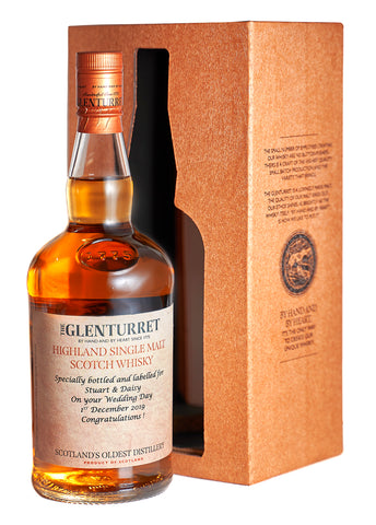 Personalised Glenturret 10 Year Old