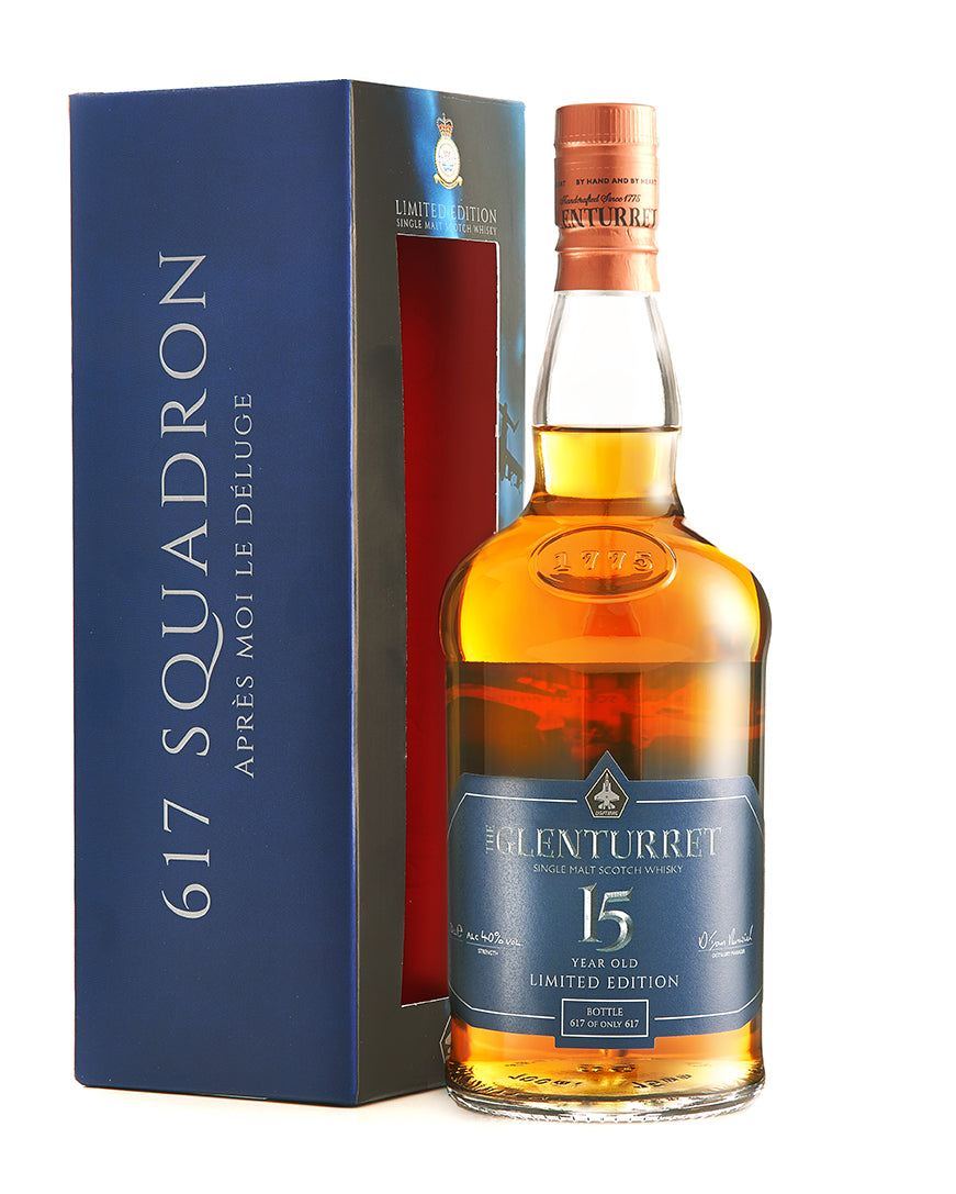 The Glenturret - 617 Squardron 15 Year Old 40%ABV