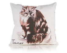 Load image into Gallery viewer, Towser Watercolour Cushion