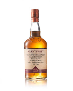 Personalised Glenturret Sherry Cask Edition 43% ABV