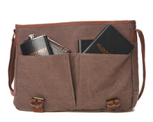 Load image into Gallery viewer, The Glenturret Canvas Messenger Bag